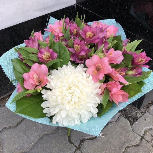 Букет альстромерии: букеты цветов на заказ Flowwow