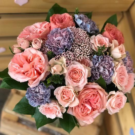 Нежная Кахала: букеты цветов на заказ Flowwow