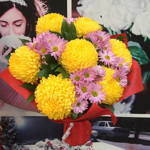 Букет «Солнце»: букеты цветов на заказ Flowwow