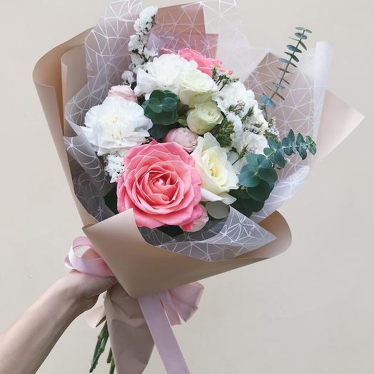 Букетик 3: букеты цветов на заказ Flowwow