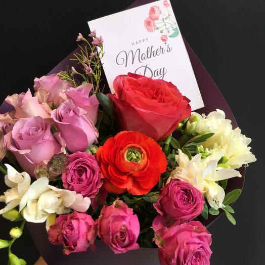 Букет День матери 7: букеты цветов на заказ Flowwow