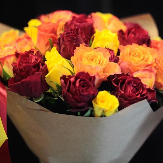Солнце Кении 35: букеты цветов на заказ Flowwow
