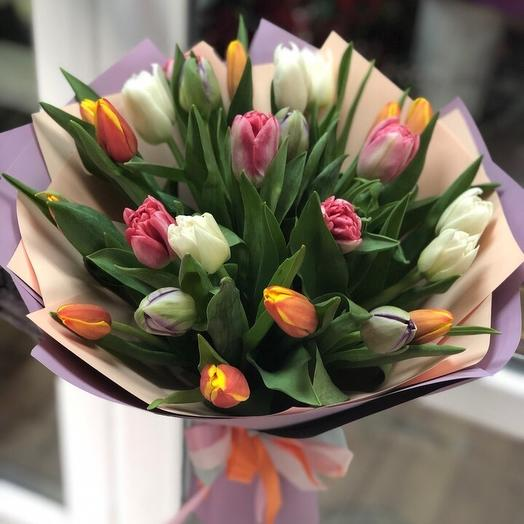 Весенний подарок: букеты цветов на заказ Flowwow