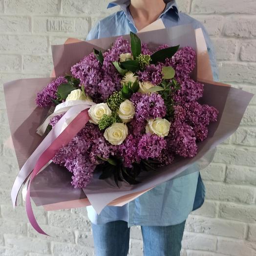 """Букет """"Сиреневый сад"""": букеты цветов на заказ Flowwow"""