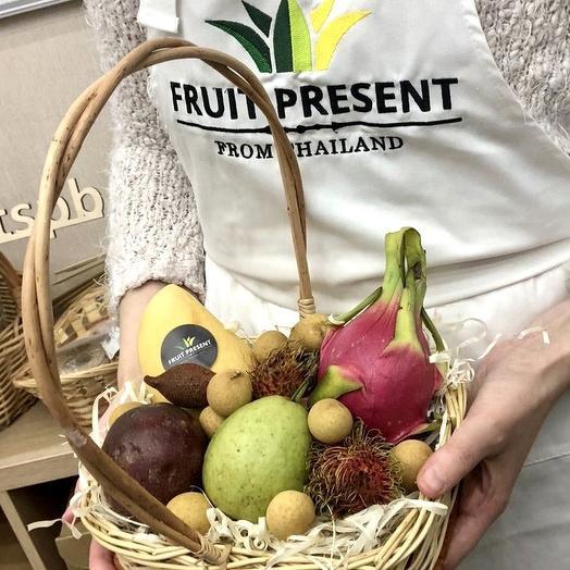 Корзина экзотических фруктов «Для тебя!»
