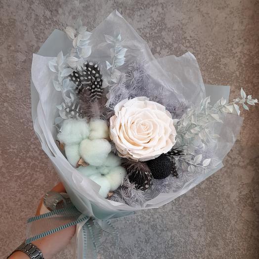 Сухоцветы букет