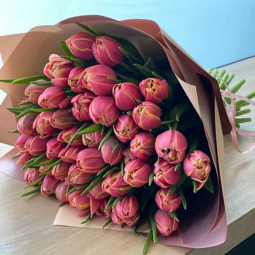 Весенний вальс, тюльпан 51шт