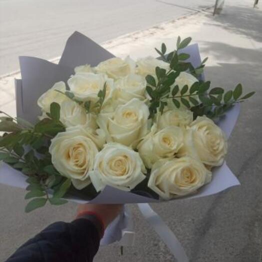 Белая роза и Писташ