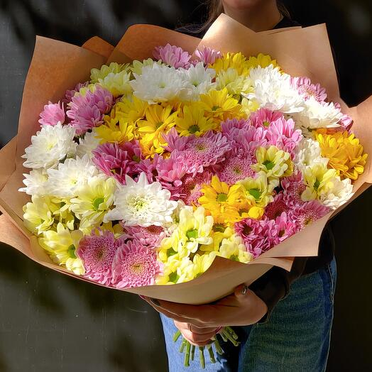"""Bouquet of chrysanthemums """"Summer day"""""""