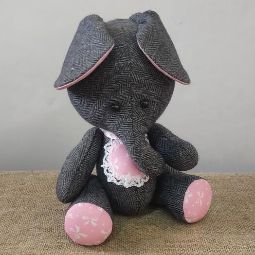 Слонёнок ручной работы