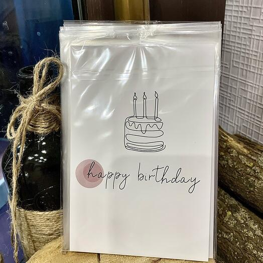 happy birthday (торт)