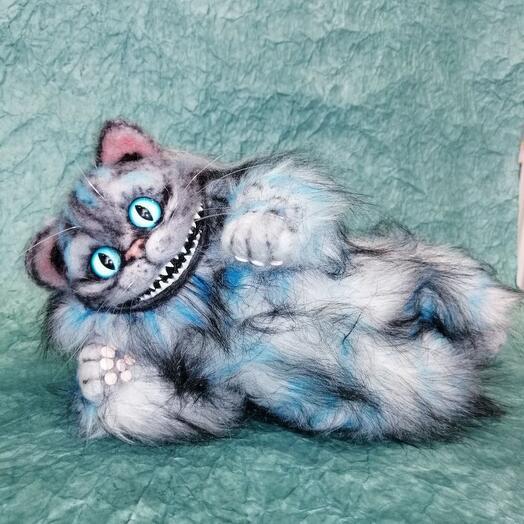Игрушка ручной работы Crazy Cat Carree Lune