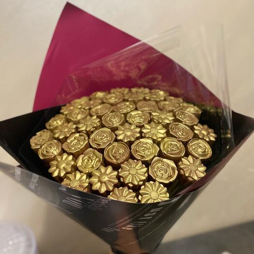 Микс цветов из Бельгийского шоколада