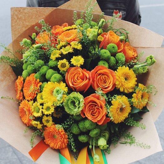 Моё солнышко: букеты цветов на заказ Flowwow