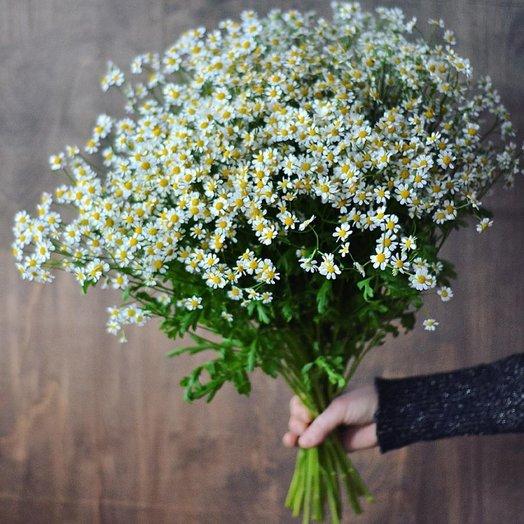 Яркий букет ромашек: букеты цветов на заказ Flowwow