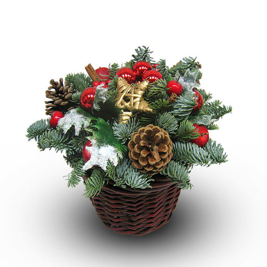 Корзинка счастья: букеты цветов на заказ Flowwow