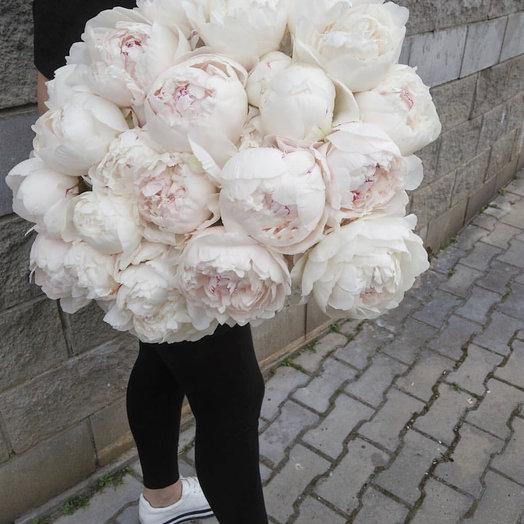 Нежнейшие пионы : букеты цветов на заказ Flowwow