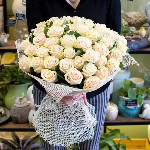 """Букет роз (51) """"Талея"""": букеты цветов на заказ Flowwow"""