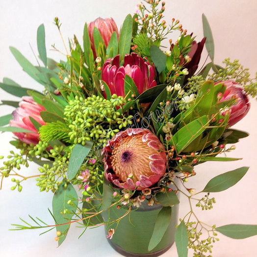 Саванна (Букет 18): букеты цветов на заказ Flowwow