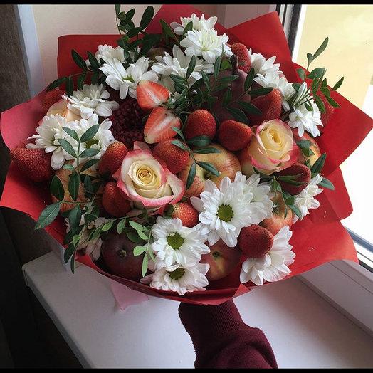 Букет «хризантема»: букеты цветов на заказ Flowwow