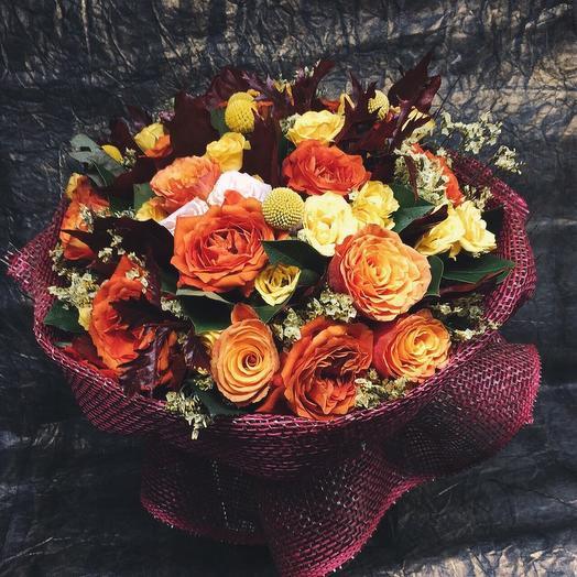 Букет «Осенний день»: букеты цветов на заказ Flowwow