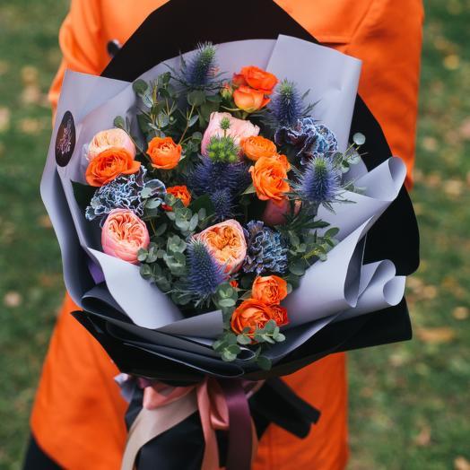 Страстное танго: букеты цветов на заказ Flowwow