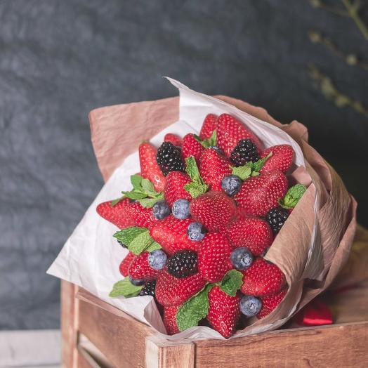Букет из ягод 98: букеты цветов на заказ Flowwow