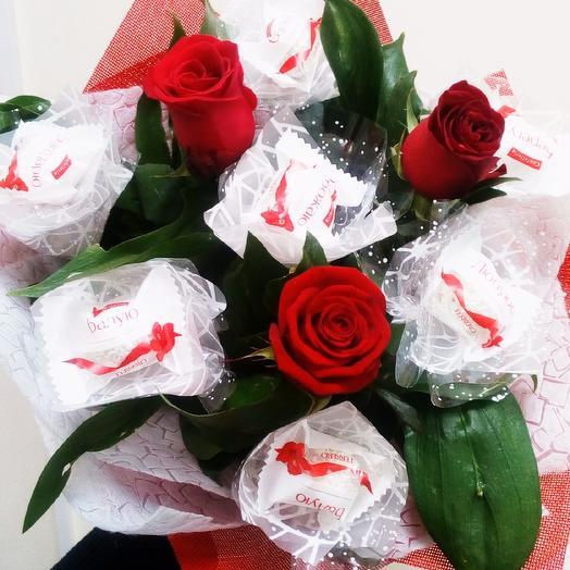 """Букет """"Скучаю"""": букеты цветов на заказ Flowwow"""
