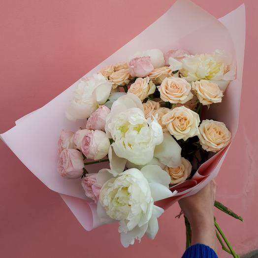 Букет «Светлое чувство»: букеты цветов на заказ Flowwow