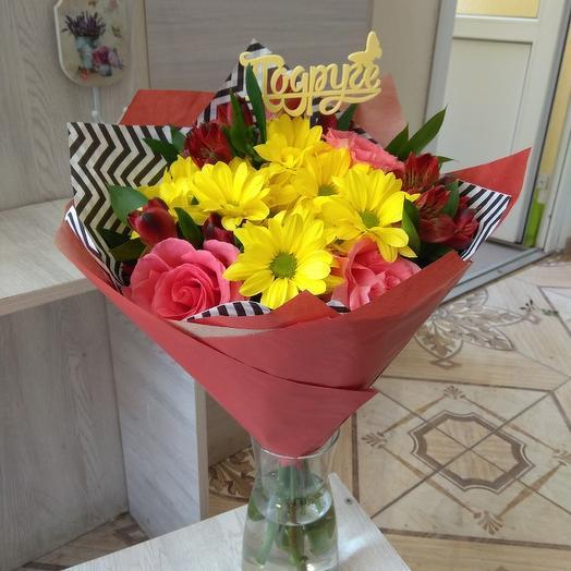 Яркий восторг: букеты цветов на заказ Flowwow