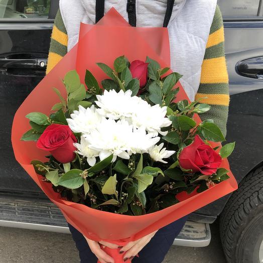 Сборный букетик из Красных роз