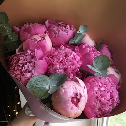 Букет шикарных пионов: букеты цветов на заказ Flowwow