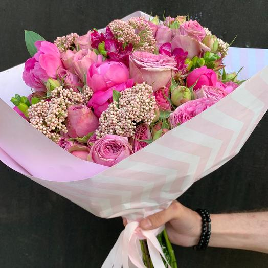 Яркое облако🌸: букеты цветов на заказ Flowwow