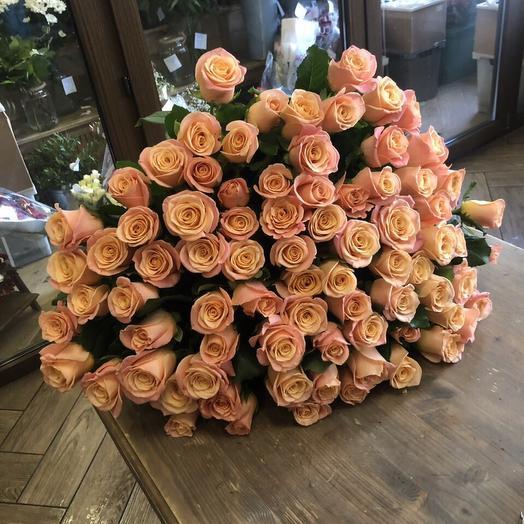 "Букет из роз ""101 роза"""