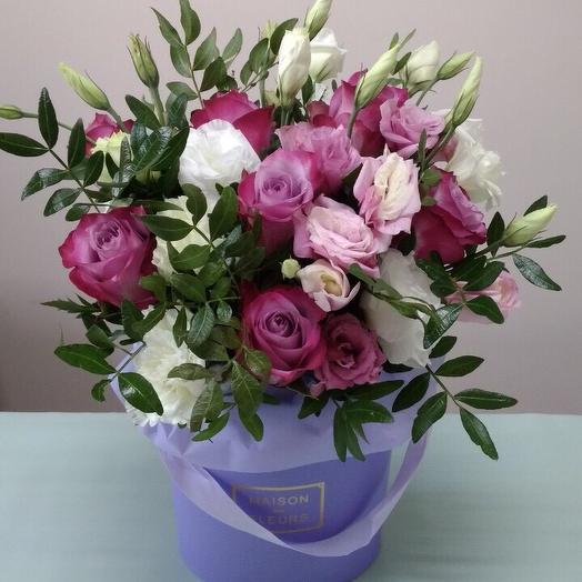 Мадам фуксия: букеты цветов на заказ Flowwow