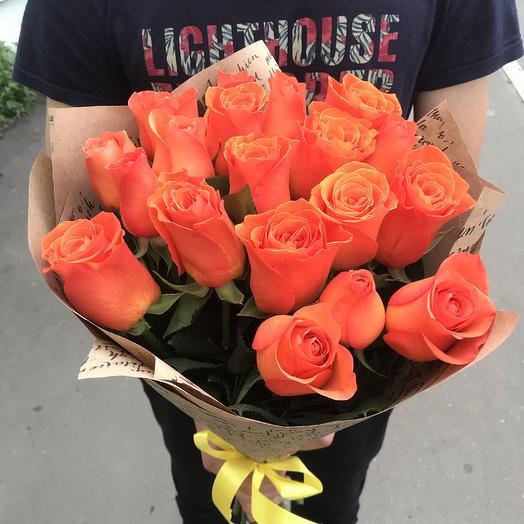 Букет из 19 роз Вау: букеты цветов на заказ Flowwow