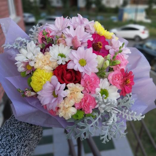 Нежная полянка: букеты цветов на заказ Flowwow