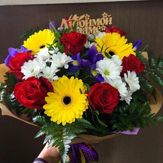 Для мамы 1: букеты цветов на заказ Flowwow
