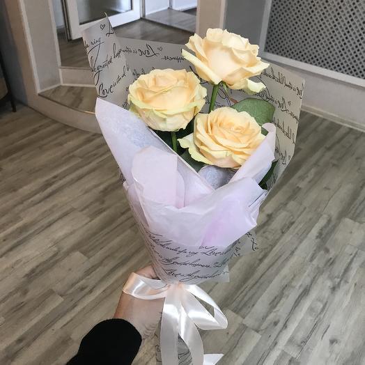Роза 3шт