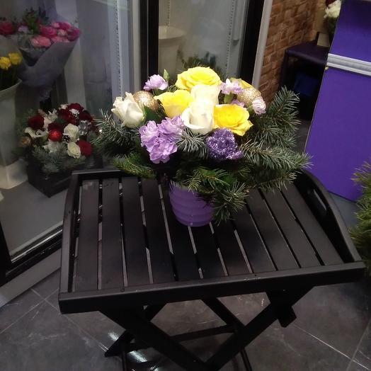 Морозный звон: букеты цветов на заказ Flowwow