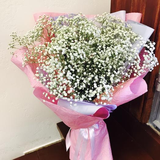 Нежное облачко )): букеты цветов на заказ Flowwow