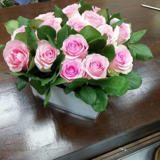 Розовая фантазия: букеты цветов на заказ Flowwow