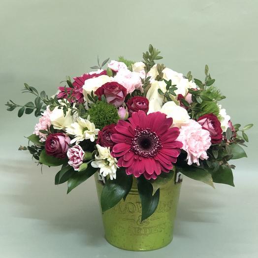 Ведерко: букеты цветов на заказ Flowwow