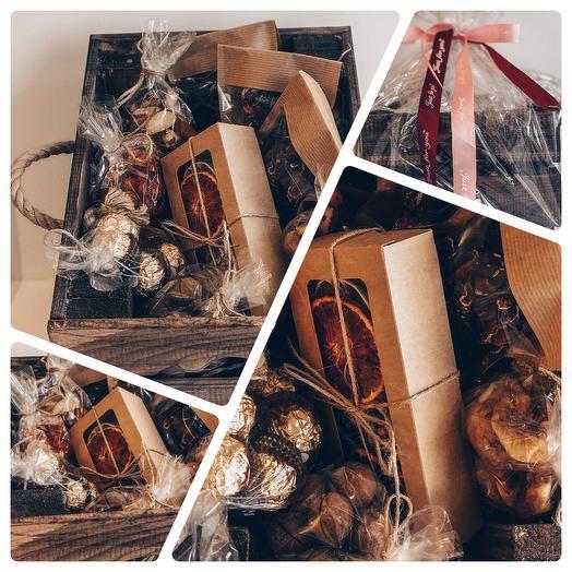 Tea Mix BOX: букеты цветов на заказ Flowwow