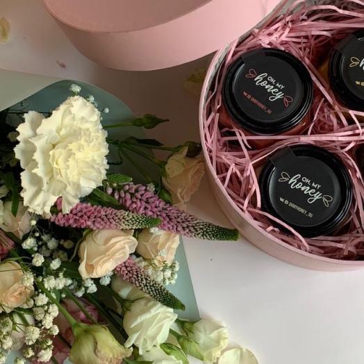 Pink - крем-мёд в розовой коробке
