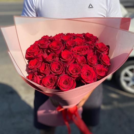 Букет роз «Огонь»