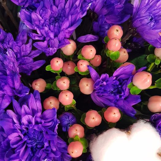 Букет фиолетово - розовый