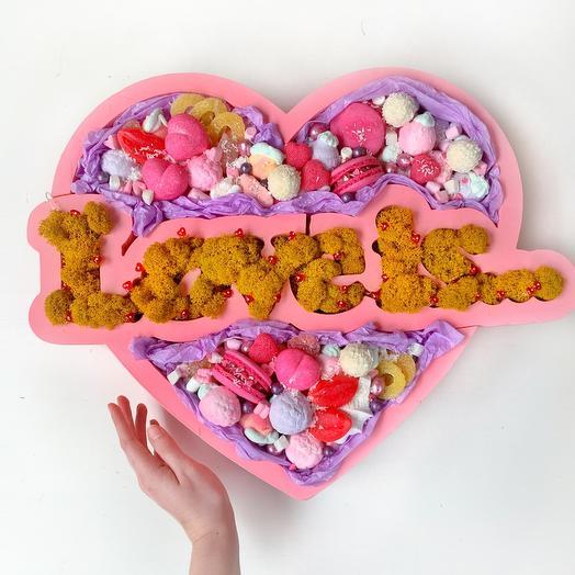 Wow-сердце «Love is...»