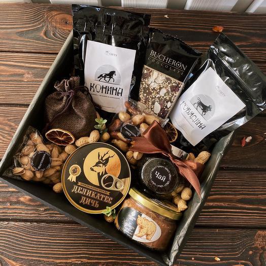 Подарочный набор мужской «Набор деликатесов»