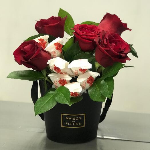 Раффаэлло с цветами